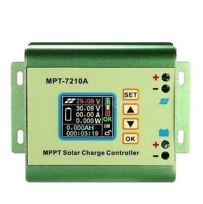 MPPT Solar Panel Battery Regulator Charge Controller with LCD Color Display M0G3