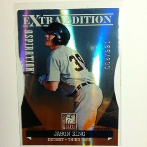 2011 Donruss Elite  Extra Edition Aspirations Jason King Detroit