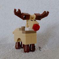 Discontinued Genuine Lego Reindeer Rudolph - lego - ebay.co.uk