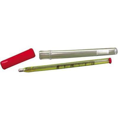 Vet Glass small Animal Thermometer with case Jorvet