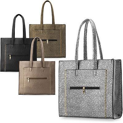 Modische Einkaufstaschen (modische Handtasche SHOPPER Damen-Einkaufstasche Schultertasche)