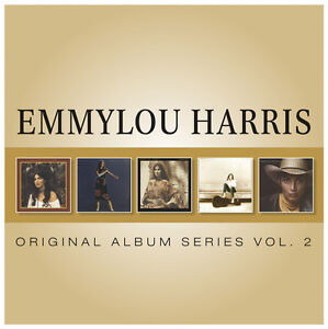 EMMYLOU HARRIS 5CD Vol 2 NEW Roses Snow/Evangeline/Cimarron/White Shoes/Thirteen