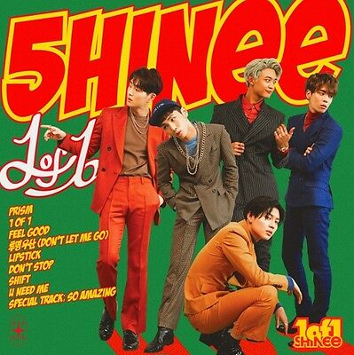 K-POP SHINEE 5th Album - [1of1] CD + Photobook + Photocard Sealed