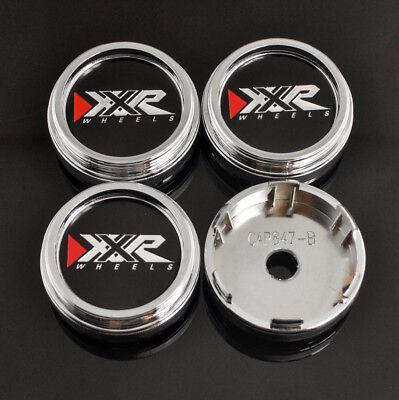 4pc 60mm OD 56mm ID Custom High Type Wheel Center Rim Caps Replacement #CAP-637