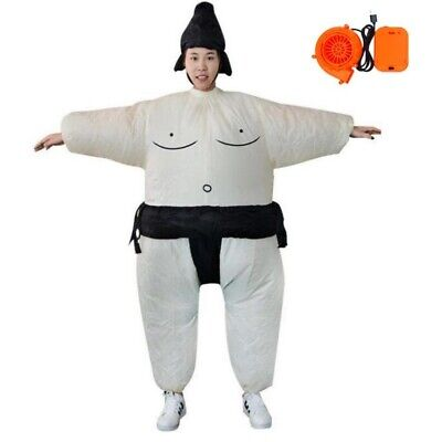 Inflatable Wrestling Sumo Halloween Party Fancy Dress Cosplay Costume Fat Suits](Inflatable Sumo Halloween Costumes)