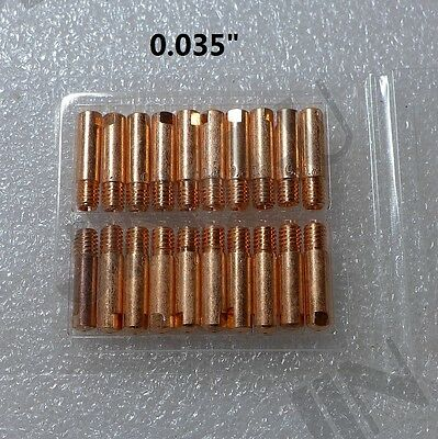 0.035 Contact Tip 20pk For Century Mig Welder Contact Tip Parts 334-161-000