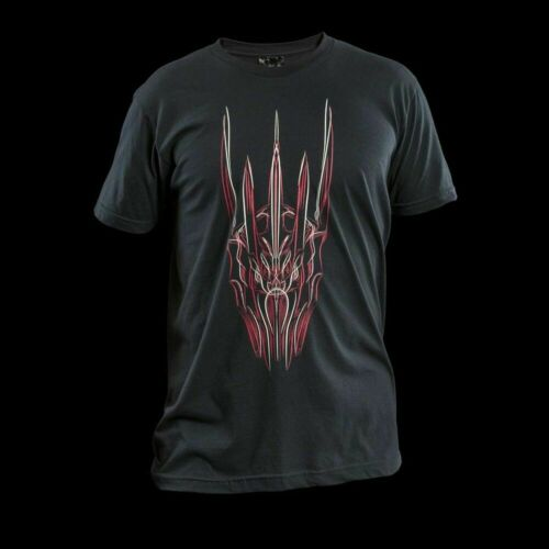 WETA THE HEAD OF SAURON Black Unisex T-shirt XL New Hobbit Lord Of The Rings