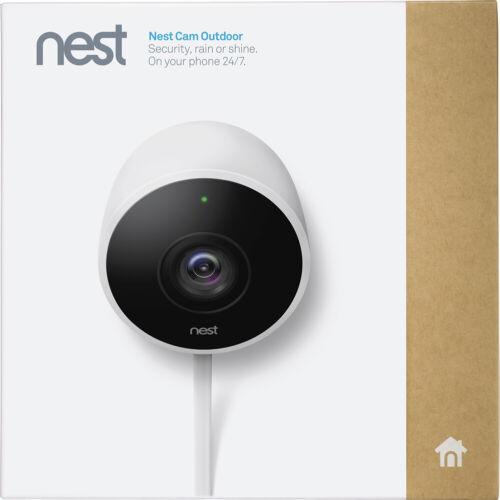 Google Nest Cam Outdoor 1080p Security Camera (NC2100ES) White New