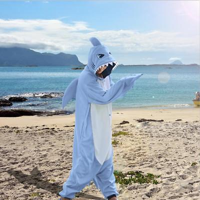 WOTOGOLD Animal Cosplay Costume Unisex Adult Children Shark Pajamas Sleepwear - Shark Kids Costume