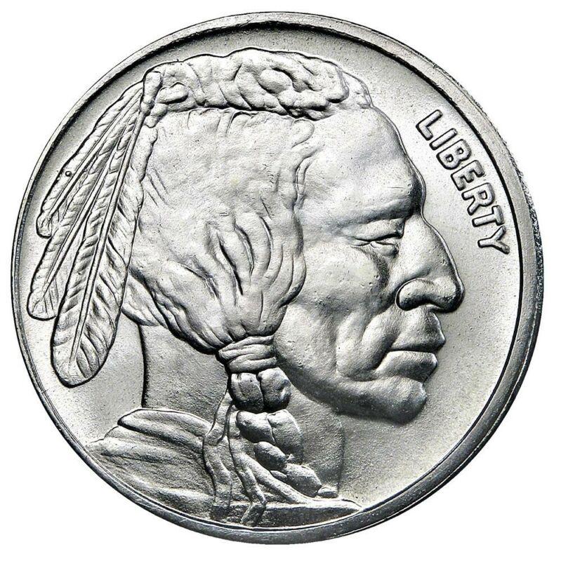 1 oz. Silver Round Buffalo Design - Random Mint