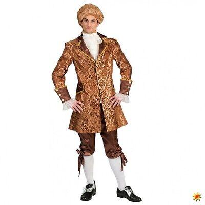 Kostüm Höfling Bartoli Gr. 48- 58 Jacke Hose Fasching Adliger Baron Graf Barock