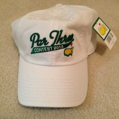 2013 Masters Par 3 Contest Limited Edition Hat! 2014 pin flag RYDER CUP