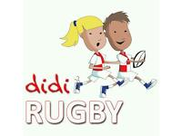 Rugby based play group for 18 month to 5 years old toddlers