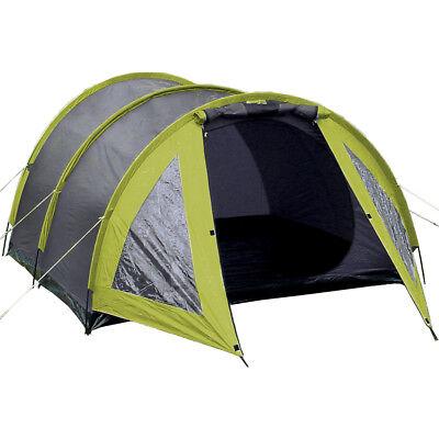 TUNNELZELT 2 3 Personen Zelt Familienzelt Campingzelt mit Vorraum Iglu Explorer