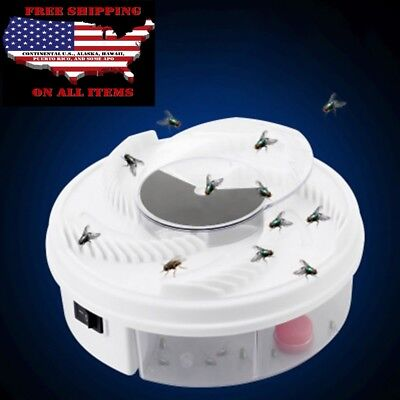 Electric USB Automatic Flycatcher Fly Trap Pest Reject Control Killer Mosquito