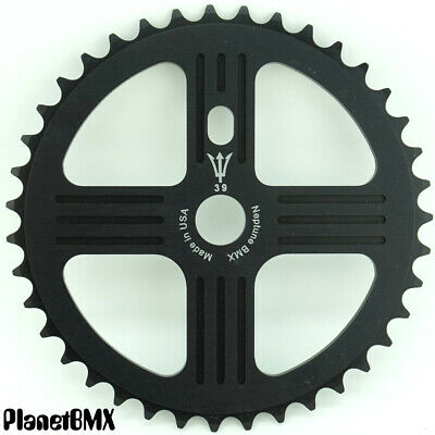 NEPTUNE BMX 44 tooth HELM Sprocket SILVER Gear for 19mm spindles Made in USA!
