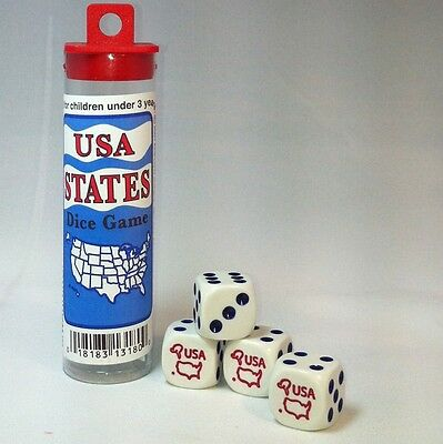 USA States Dice Game