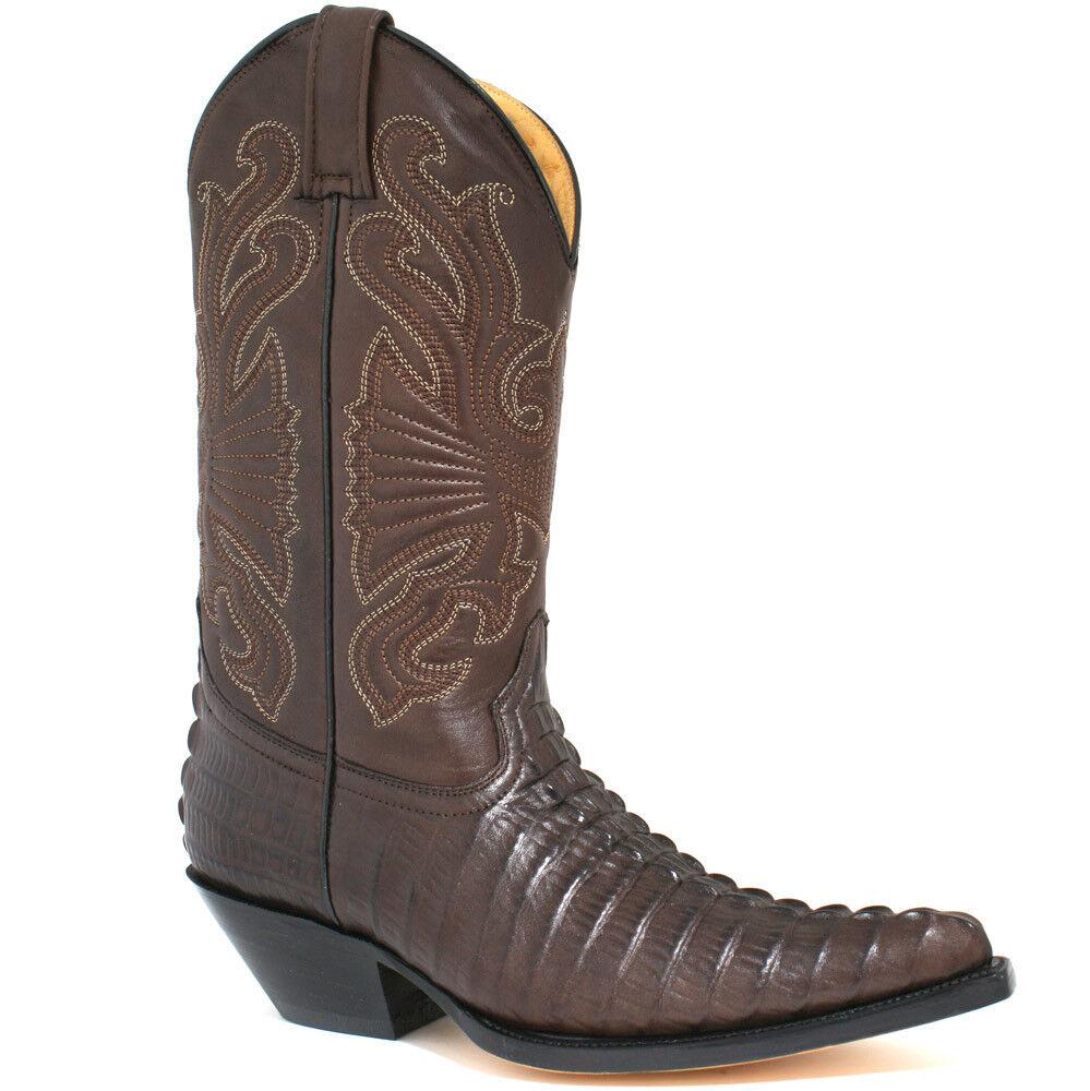 Grinders Maverick Homme Cowboy Bottes, M