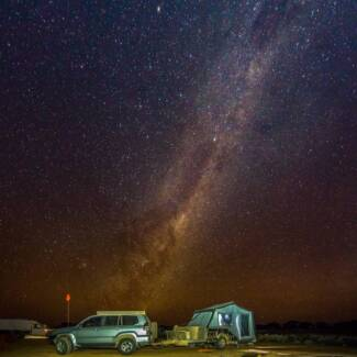 "Cub Brumby hard floor off road camper trailer over $3,000 extras"""