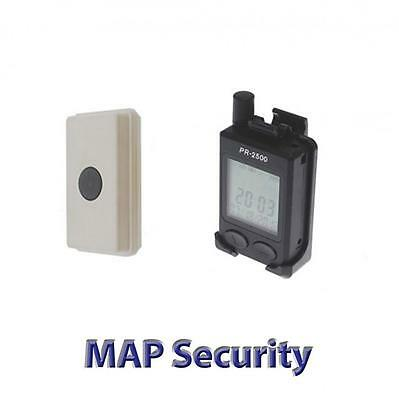 Pager-kit (DAKOTA 2500E WIRELESS EXTERNAL LONG RANGE DOOR BELL AND PERSONAL PAGER KIT)