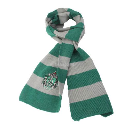 Harry Potter Vouge Slytherin House Cosplay Knit Costume Scarf Wrap