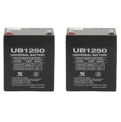 Upg Kit - UPG 2 Pack - New Electric Trailer Brakes Breakaway Kit Rechargeable Battery UB12