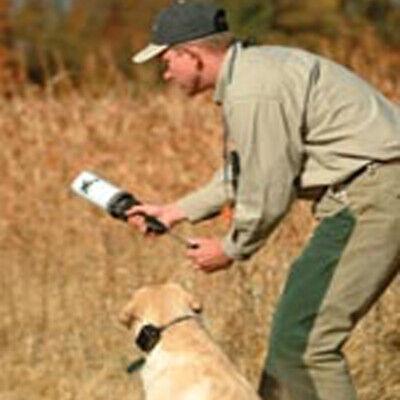 DT Systems Super Pro Dummy Launcher Hand Held Dog Training Kit Orange Dummy Training Kit