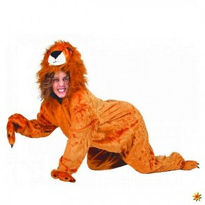 Kostüm wilder Löwe Sanwa Gr. 48- 58 Overall Tierkostüm Zoo Afrika - Wilden Löwen Kostüm