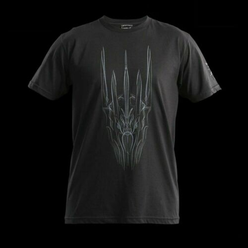 WETA THE HEAD OF SAURON Black Unisex T-shirt S New Hobbit Lord Of The Rings