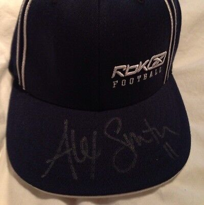 100% Authentic Alex Smith Signed Reebok Football Hat San Francisco 49ers