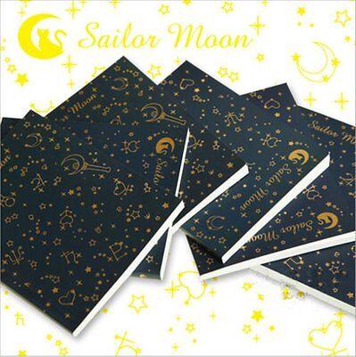 Anime Sailor Moon Logo Crystal Memo 20th Tsukino Usagi Diary Cosplay Notebook