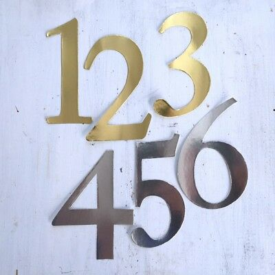 Gold or Silver Number Stickers, Wedding Table Numbers, Craft Numbers, DIY Table Diy Wedding Table