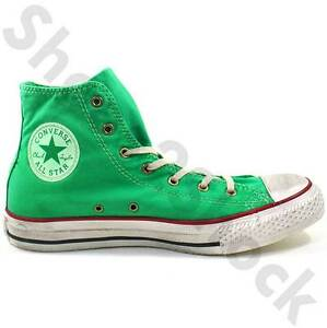 MENS-CONVERSE-ALL-STAR-CANVAS-BOOTS-SIZE-6-12-WELL-WORN-DEEP-MINT-136888C