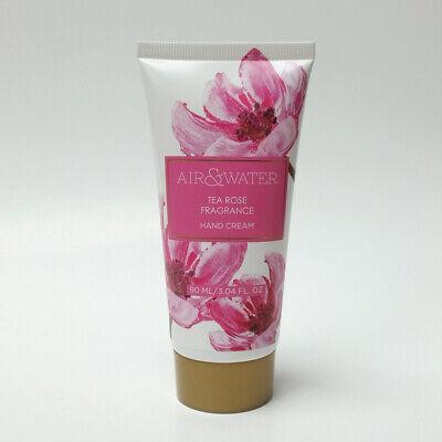 Worldwide Tea Rose - Tea Rose Fragrance Hand Cream 3.04 oz / 90 mL by Pearl World Air & Water