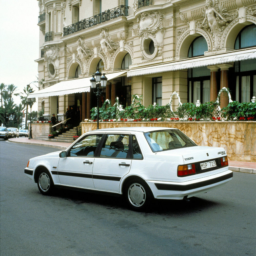 Volvo 460 Turbo, Modell 1990 Foto Copyright: Volvo Car Corporation