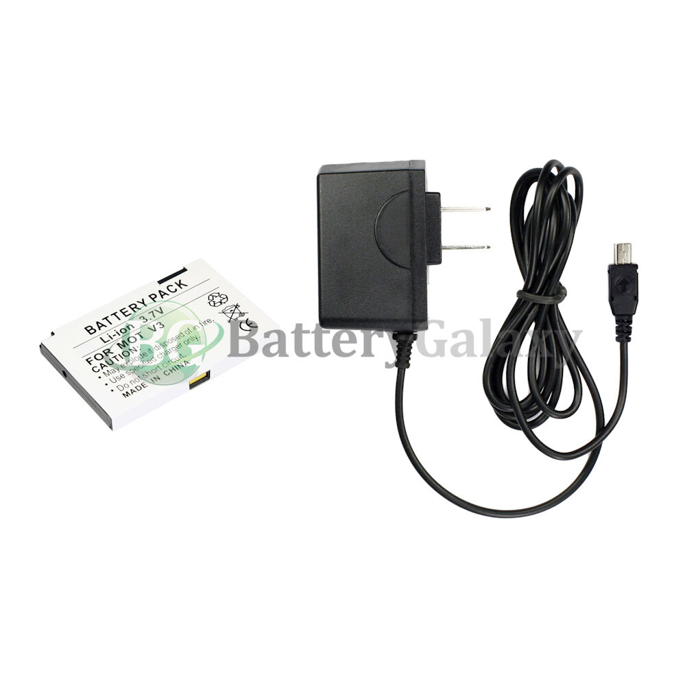 NEW Battery for Motorola RAZR RAZOR V3 V3C V3i V3M V3R V3T+