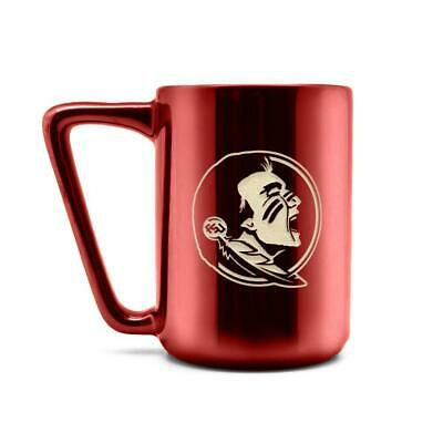 Florida State Seminoles Coffee Mug Laser Engraved Ceramic Cup 16 oz. ()