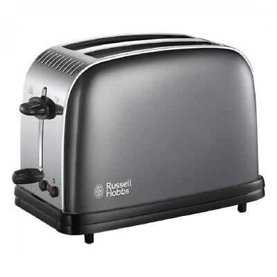 Russell Hobbs 23332 Fast Toast Technology Colour Plus 2-Slice Toaster - Grey
