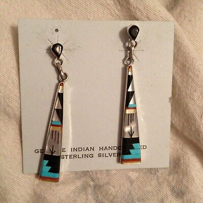 Sterling Silver Earrings New Jewelry Indian Handcrafted