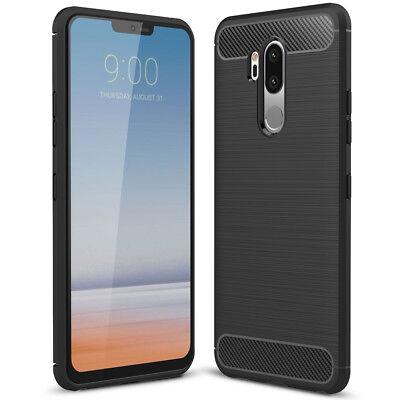 NALIA Hülle Handyhülle für LG G7 ThinQ, Ultra Slim Soft Silikon cover case Etui Lg Ultra Slim