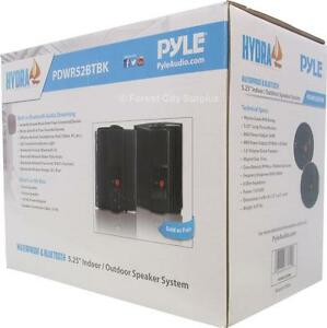 New - BLUETOOTH WATERPROOF OUTDOOR SPEAKERS - BEAUTIFUL SOUND QUALITY - EASY WIRELESS INSTALLATION AT HOME OR COTTAGE