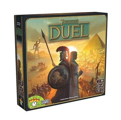 Board Game 7 Wonders Extension 7 Duel 2 Player Strategy Board Card Game English