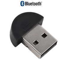 Clé USB Dongle Bluetooth  V 2.0 Adaptateur pour PC MAC Windows - noir