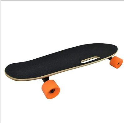 Electric Skateboard Longboard Remote Control Charger Black Long Board US STOCK