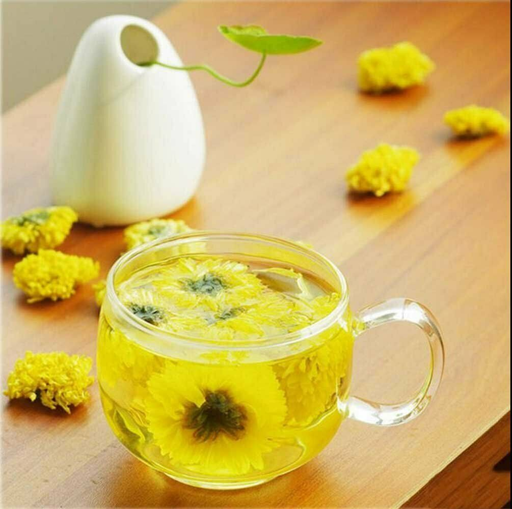 Chrysantheme Tee Gelbe Chrysantheme Tee 100% Duft Natürlich