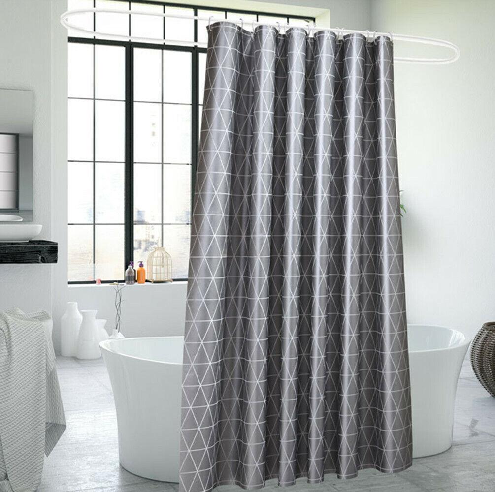 Duschvorhang mit Haken Badewannenvorhang Dusche Bad Badewanne Vorhang 180x180cm