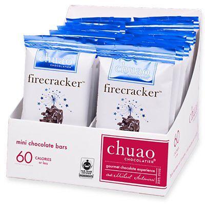 Chocolate Bars - Chuao Chocolatier Firecracker Mini Chocolate Bars 24pk .39 o...](Firecracker Chocolate)