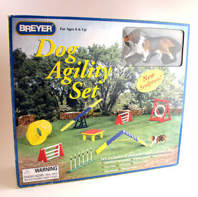 Breyer Dog Agility Set   Lightly Used   RARE   FREE SHIPPING