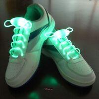 Verde Led Colorato Luminoso Illuminare Impermeabile Lacci Stringhe Per -  - ebay.it