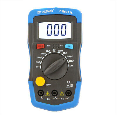 Dm6013l Handheld Digital Capacitor Capacitance Tester Meter Lcd Backlight Tool
